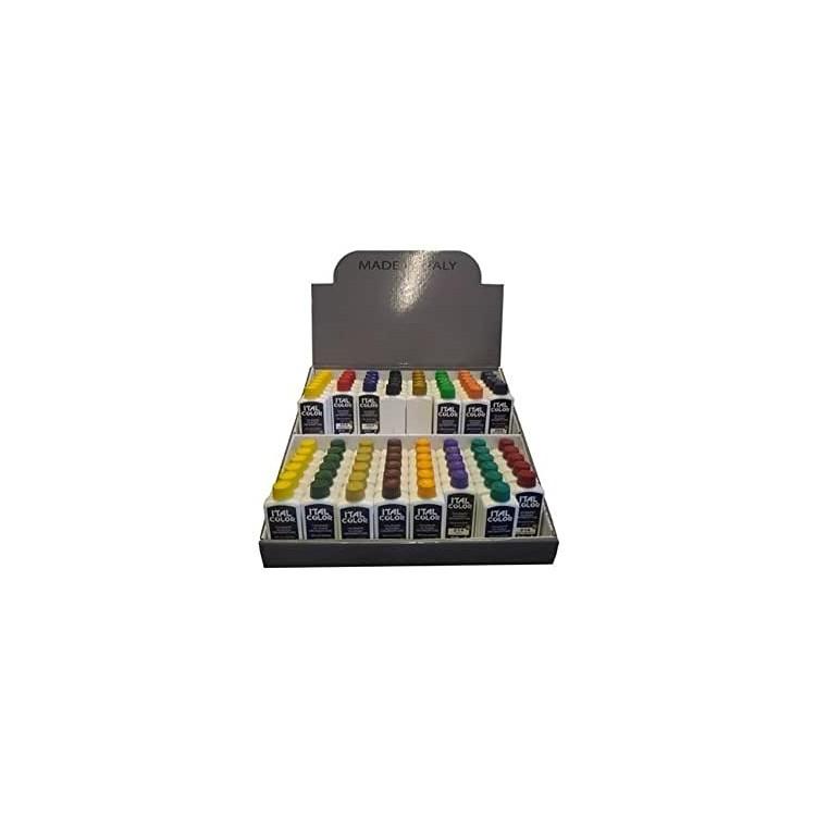 Colorante Universale all'acqua per Pittura Lavabile Idropittura Colori assortiti