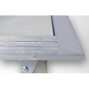Botola Ispezione CARTONGESSO Alluminio FUORI STANDARD (90x90)